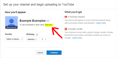 How to create a google adsense account for youtube